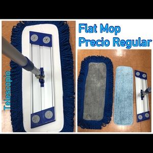 New Flat Mop Comercial